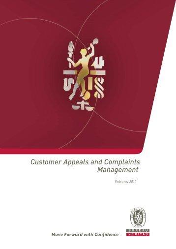 Complaint Management - Bureau Veritas