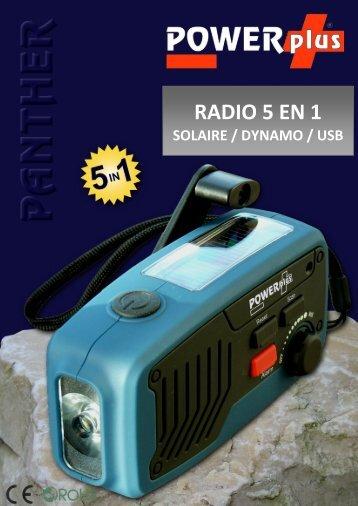 RADIO 5 EN 1 - Eqwergy