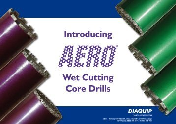 Aero ® End User Presentation (pdf) - Diaquip