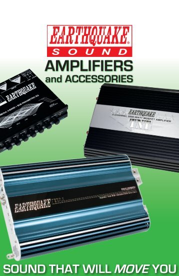 Amplifier Brochure