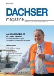 Ambassadors of global trade - dachser.sk