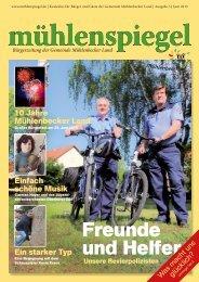 Freunde und Helfer - Gemeinde Mühlenbecker Land
