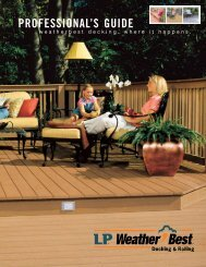 PROFESSIONAL'S GUIDE - Siding  Innovations
