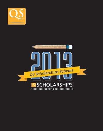 QS Scholarships Scheme