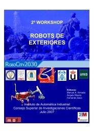 ROBOTS DE EXTERIORES - Centro de Automática y Robótica