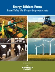 Energy Efficient Farms - The Minnesota Project