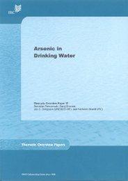 Arsenic in Drinking Water - BVSDE
