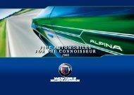 FINE AUTOMOBILES FOR THE CONNOISSEUR FINE ... - bmw alpina