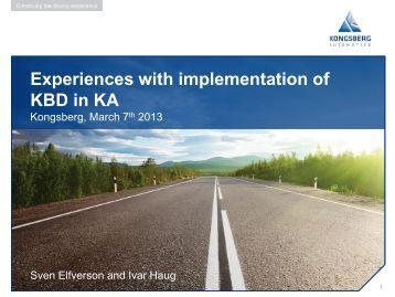Knowledge standards - Norsk Industri