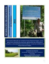 INFORM AC IÓN ORG A NIZACIONAL - Pyme Parque Chagres