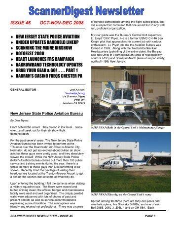 Issue 46 - Scanner Digest Newsletter