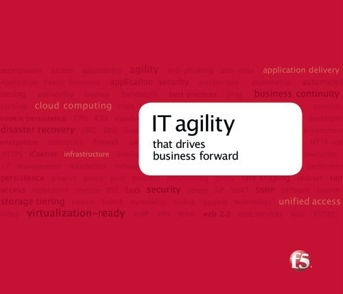 F5 Networks Corporate Brochure