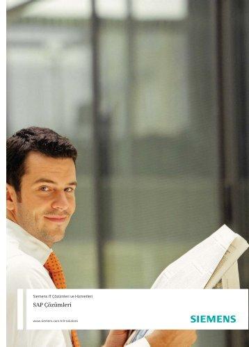 SAP Çözümleri - Siemens