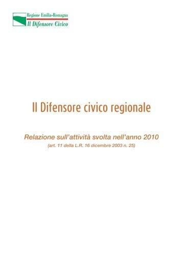[PDF] Il Difensore civico regionale - Assemblea Legislativa