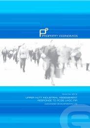 Updated economic effects assessment - Upper Hutt City Council