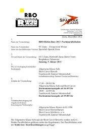 Ausschreibung Riefenrace 2013