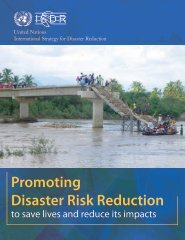 Promoting Disaster Risk Reduction