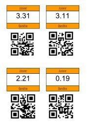 QR Treasure Hunt - calculating with decimals - Mr Barton Maths