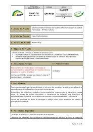 Desenvolvimento e Revisão dos Modelos de Concessão ... - GesANTT