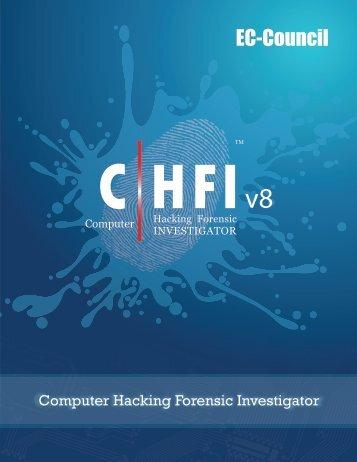Download CHFI Brochure - EC-Council