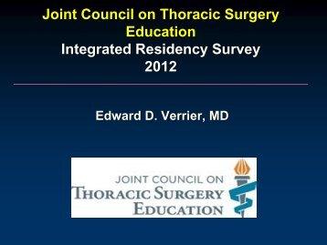 JCTSE/Integrated Six-Year Survey Review - TSDA