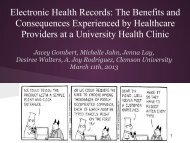 Electronic Health Records - Human Factors and Ergonomics Society
