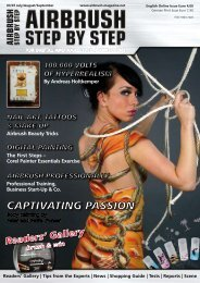 Body painting by Petra and Peter Tronser - Airbrush Step by Step ...