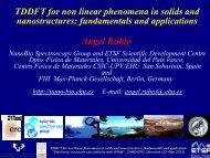 Time-dependent density functional theory for non-linear phenomena ...
