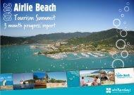 1 Airlie Beach Tourism Summit – Three month progress report ...