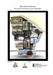 relatório do seminário pacto pela convivência com o semiárido