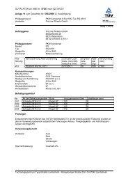 GUTACHTEN zur ABE Nr. 47627 nach §22 StVZO Anlage 11 zum ...