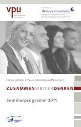 Seminarprogramm - VPU