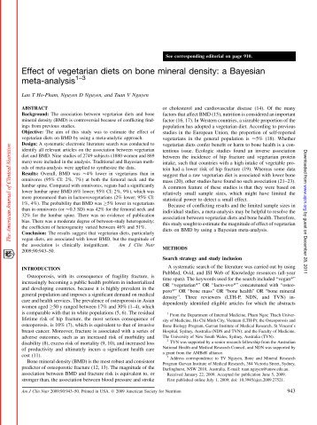"controversy paper the effects of vegetarianism One thought on "" the true environmental benefits of veganism "" pxw5127 september 14, 2015 at 5:19 pm i have always been interested in vegans, so i."