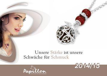 Papillon Schmuck Katalog 2015