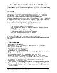 Bericht - Medienkommission