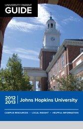 The 2012-2013 JHU Parent Guide - Parents Program | Johns ...