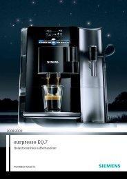 surpresso EQ.7 - Siemens