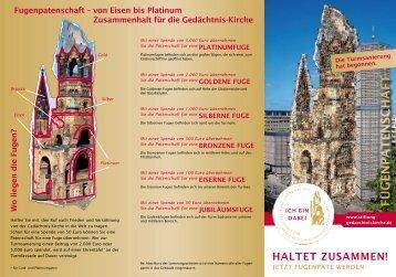 Formular - Evangelische Kaiser-Wilhelm-Gedächtniskirche