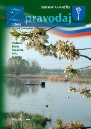 ŠEBEROV A HRNČÍŘE 2/2006 Brůdek - jaro Radnice Škola ...