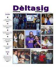 DELTASIG - Summer 2001 - Delta Sigma Pi