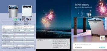 Eine echte Glanzleistung: 50 Jahre made in ... - Siemens Hausgeräte