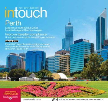 Corporate Traveller Intouch April 2013