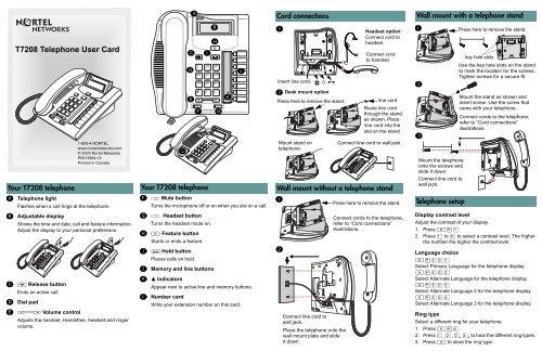Bt t7208 manual.