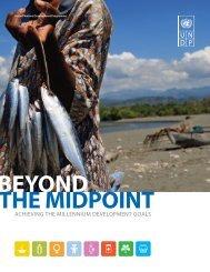 ACHIEVING THE MILLENNIUM DEVELOPMENT GOALS - UNCDF