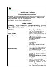 Minimum requirements - The Health and Welfare Sector Education ...