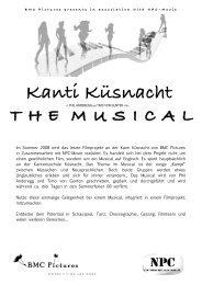 Information Musical - Kantonsschule Küsnacht