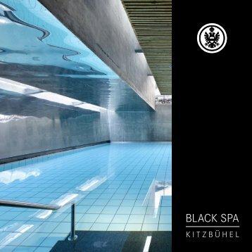 SA Spa Preisliste 11-12.indd - Schwarzer Adler Kitzbühel