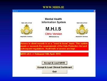 MHIS Ronan Hearne - eHealth