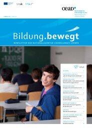 Newsletter 1/2013 - Nationalagentur Lebenslanges Lernen