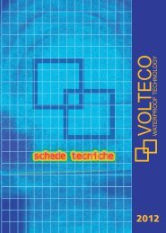 schede tecniche - Volteco